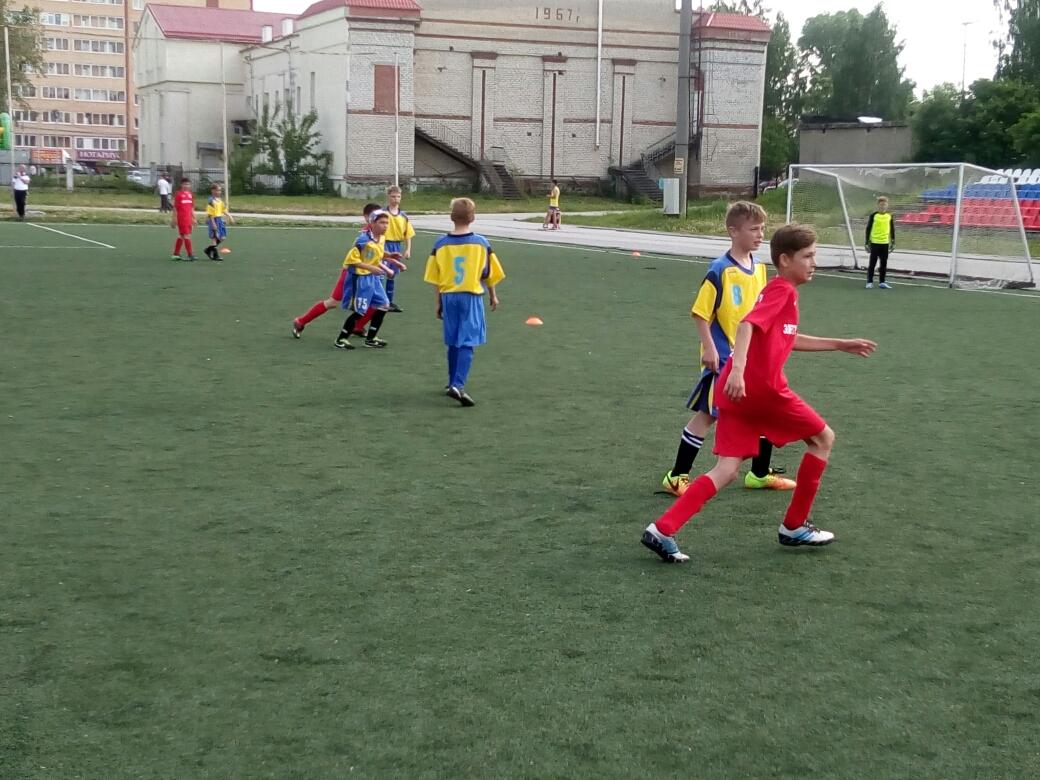 Футбольная команда Юность-Электрогидромаш