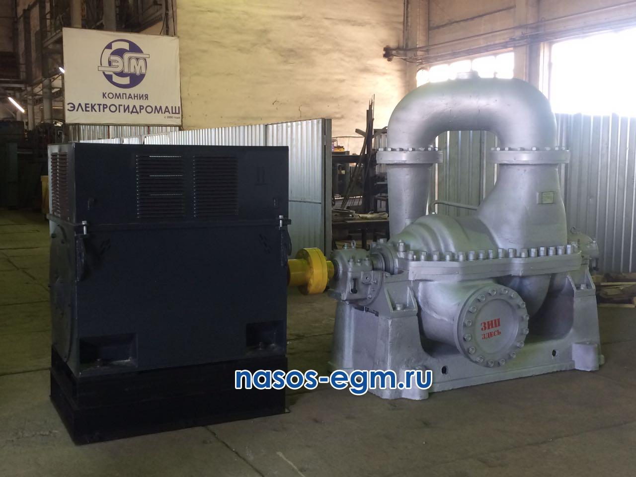 Насос СЭ 1250-140-11 с двигателем