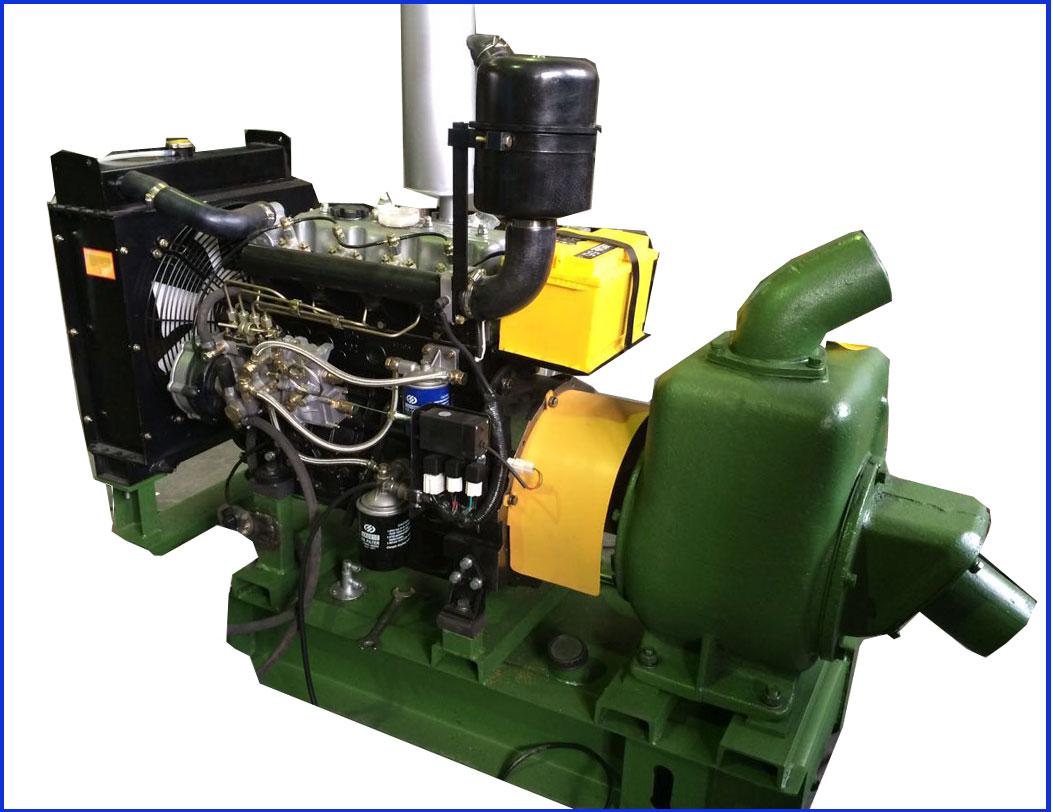 Насос С569М с дизельным двигателем