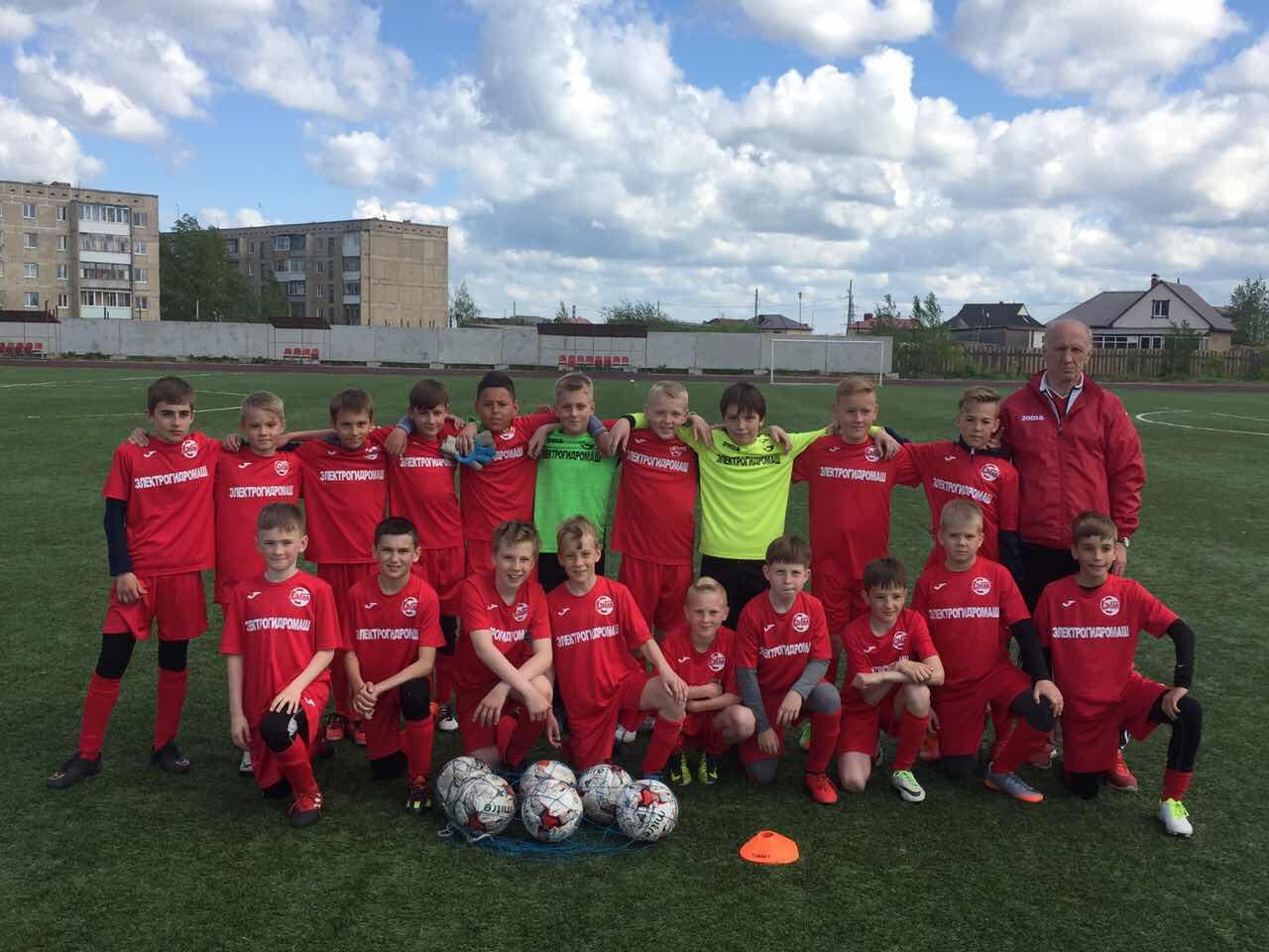 Футбол Электрогидромаш Екатеринбург