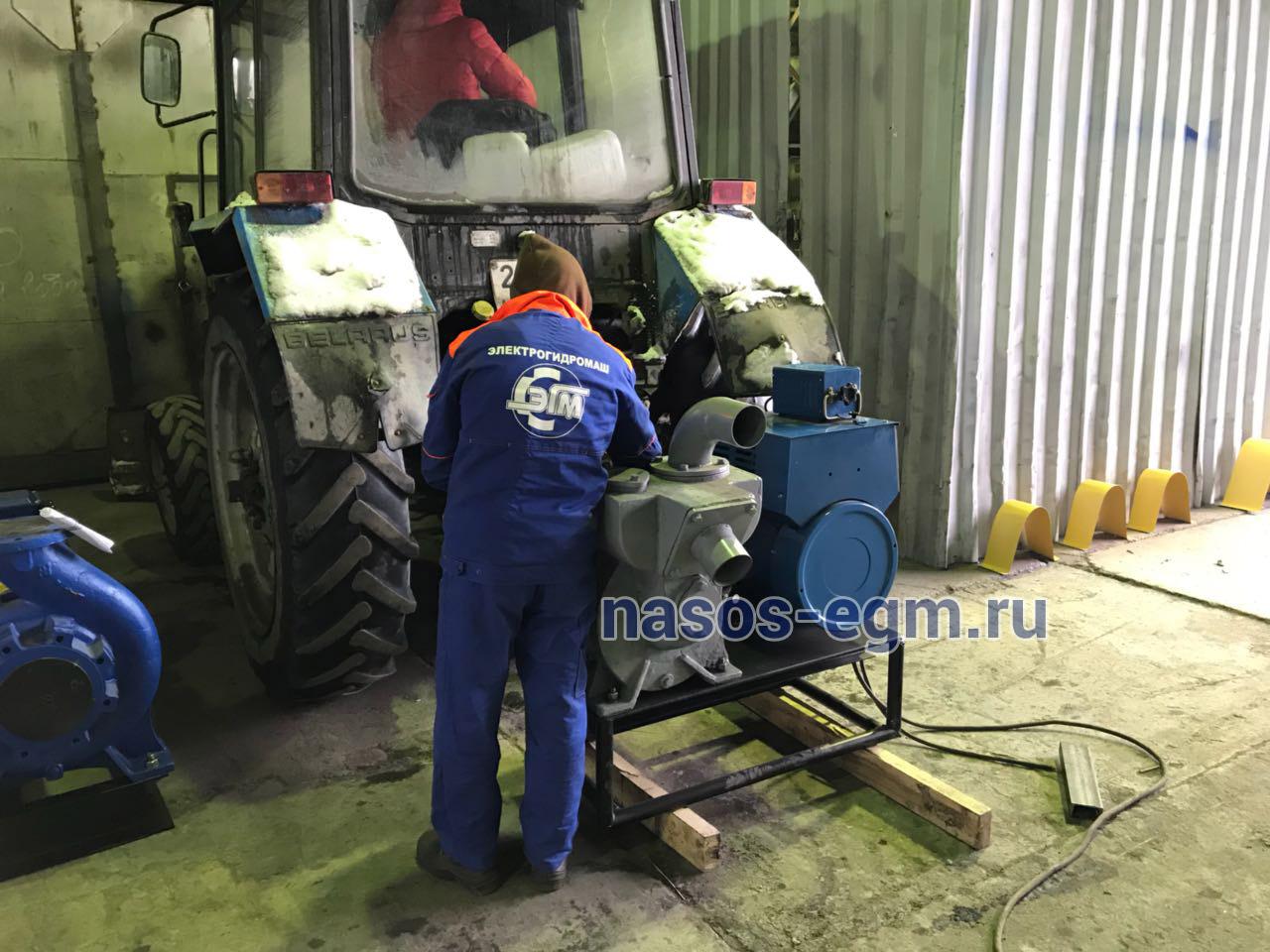 Навесная установка на трактор МТЗ от ВОМ